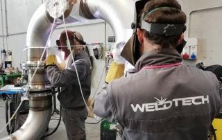 Weldtech - le nostre lavorazioni